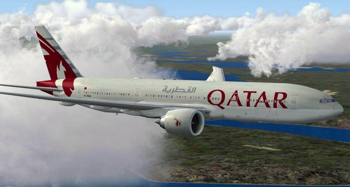 Qatar samolot 777-1