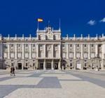 Royal Palace at Madrid Spain