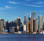 Manhattan skyline panorama, New York City